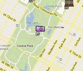 Ubicación de Central Park