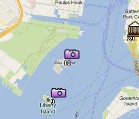 Ubicación Ellis Island
