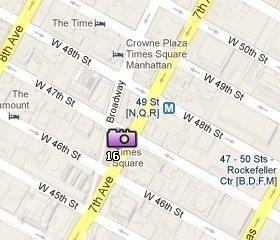 Ubicación Times Square