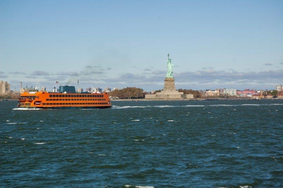 Barcos en Nueva York