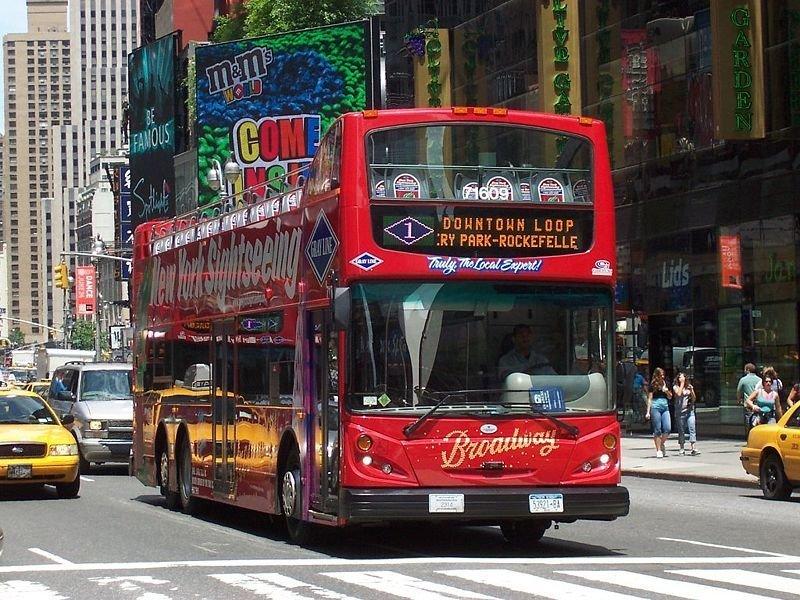 Bus Turistico de Nueva York