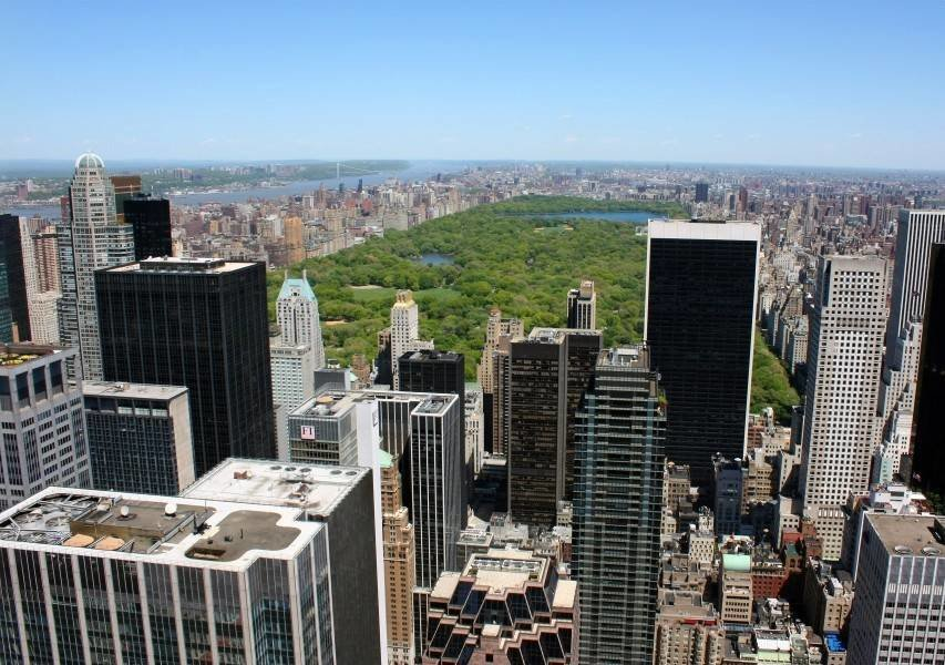 Vista desde el Top of the Rock