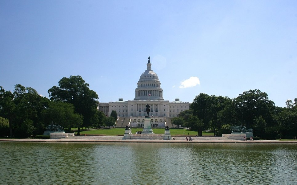 Capitolio y Ulysses S. Grant Memorial