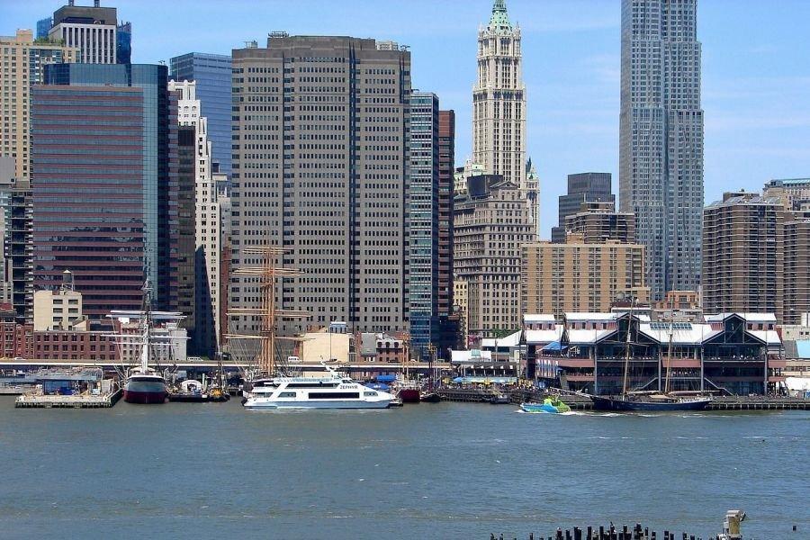 Crucero con almuerzo o brunch por el Hudson